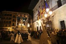 Palma restringirá la circulación y estacionamiento de vehículos por las procesiones del Jueves y Viernes Santo