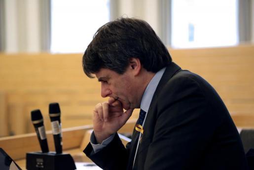 Fotografía de archivo (Helsinki, 23/03/2018), del expresidente catalán Carles Puigdemont.