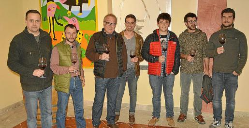 Pere Orell, Joan Masques, Tomeu Reynés, Ismael Pedrero, Lluís Colom, Lluc Crespí y Lucas Kraus.