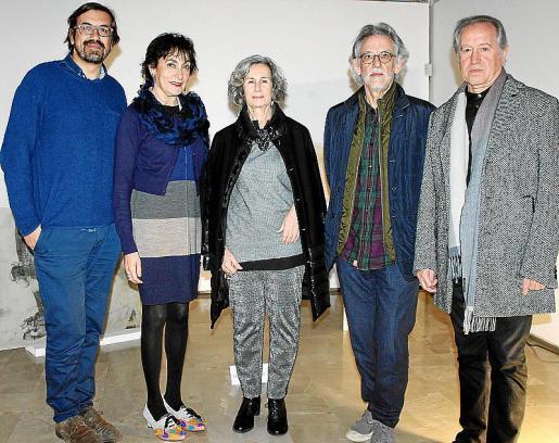 Sebastià Mascaró, Neus Cortés, María Dolores Martínez Echevarría, Pepe Cañabate y Lluís Fuster.