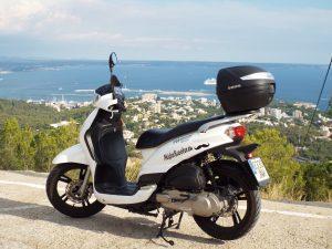 Míster Scooter es una empresa de alquiler de motos en Mallorca.