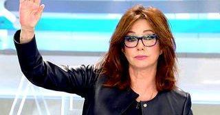 La presentadora Ana Rosa Quintana durante la emisión de su programa.