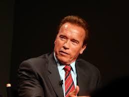 El actor y político estadounidense Arnold Schwarzenegger.
