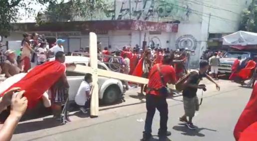 El tiroteo se ha producido durante una procesión de Semana Santa.