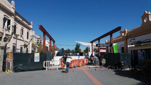 Está previsto que las obras de la Estación Intermodal de Palma terminen a principios de junio.
