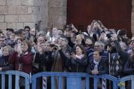 Las imágenes de la Familia Real, en la misa de Pascua