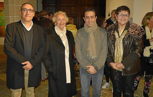 Andreu Aguiló, Pilar Citoler, Miquel Àngel Sureda y Aina Aguiló.