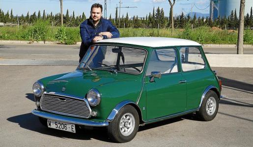 Edgar Abadía es el propietario de este Mini 850 de 1972 que compró en Madrid hace diecisiete años