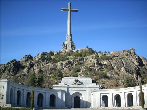 Imagen del monumento del Valle de los Caídos, lugar donde está enterrado el cadáver del dictador que da nombre a la fundación Francisco Franco.