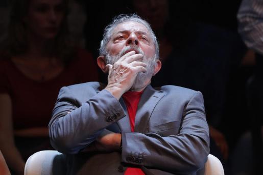 Fotografía de archivo del 2 de abril de 2018, del expresidente brasileño Luiz Inácio Lula da Silva.