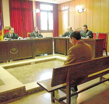 Imagen del juicio por abusos celebrado en el año 2005.