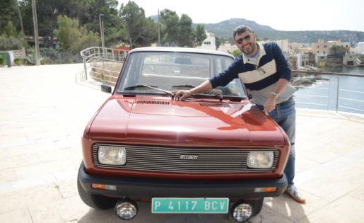 Claudio Graciano es el propietario de este Fiat 128 de 1976 que en España no se comercializó y por eso es un vehículo difícil de encontrar