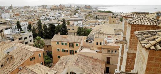 Las viviendas ubicadas en el centro de Palma, tanto nuevas como de segunda mano, son las más demandadas por el mercado.