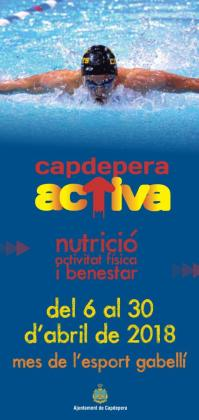 Capdepera dedica varias actividades a la nutrición y el bienestar físico.