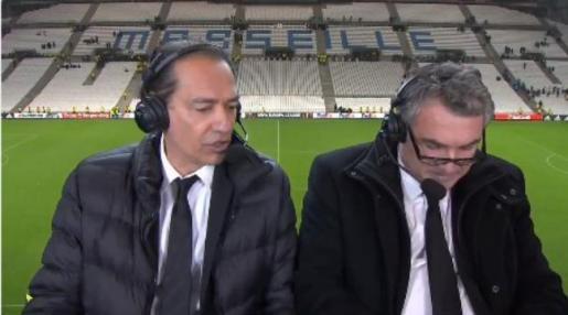 Un periodista francés, suspendido por llamar «gilipollas y maricones» a los jugadores del Leipzig.