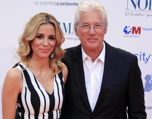 La empresaria española Alejandra Silva y el actor norteamericano Richard Gere.