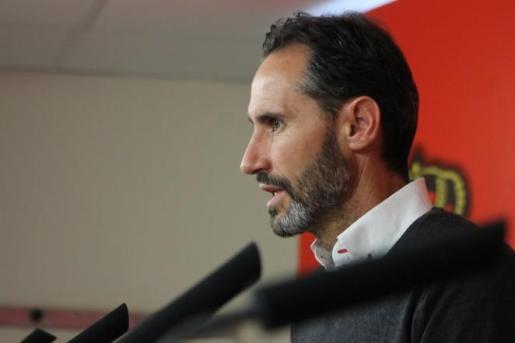 Vicente Moreno: «No podemos irnos satisfechos con el empate»