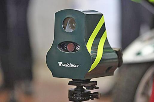 Los 'mini radares' se controlan por 3G o 4G desde kilómetros de distancia.