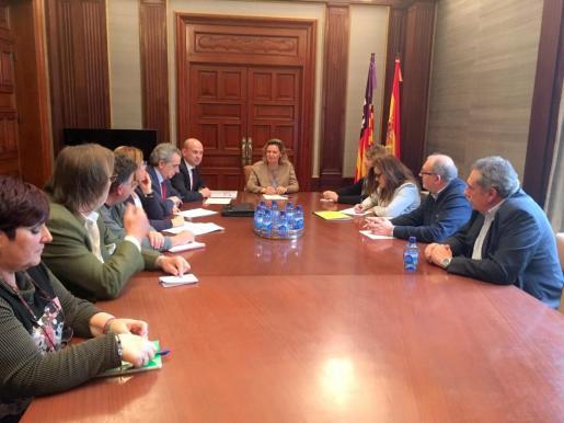 La delegada del Gobierno destaca que el ejecutivo central incrementará los esfuerzos para el dispositivo de seguridad de verano en Baleares.