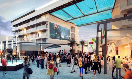 Meliá Hotels International abrirá en julio un nuevo establecimiento hotelero en Magaluf.