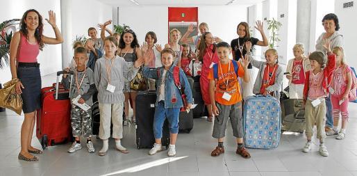 Muchos de los niños rusos que llegan a Mallorca no han visto jamás el mar.