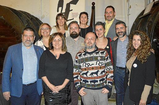 Jesús Jurado, Gemma Pascual, Fanny Tur, Carme Castells, Pau Vadell, Francisca Niell, Jordi Mas, Bel Olid, Josep de Luis, Jordi Martín y Aina Sastre.