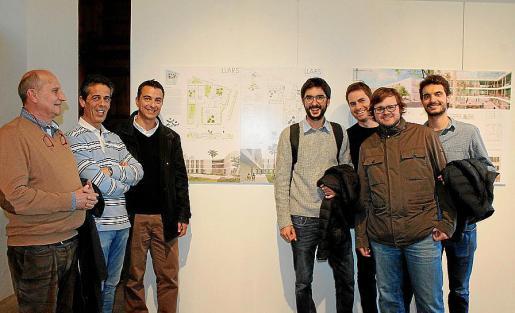 Bernardino Seguí, José Rabasco, Estanis Segura, Ángel Morado, Adrià Clapés, Tomás Montis y Joan Pizà.