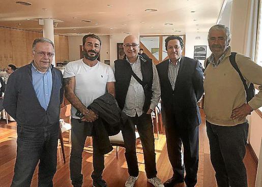 José Manzano, Pedro Gallego, Nelson Sanguinet, Toni Ramos y Juan Sánchez.