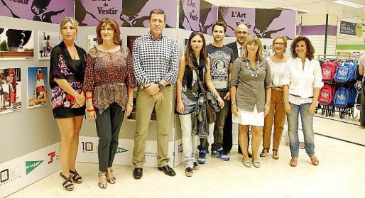 Nuria Gómez, Marisa Cortés, Marcelius, Flavia Mertehkian, Jaume Escala, Xisca Albis, Toni Sánchez, Tania Frau y Raquel Arañón.