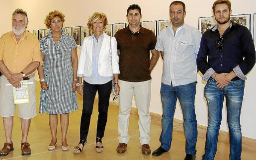 Joan Lacomba, Marga Horrach, Malen Cantarellas, José Pastor, Toni Aguilar y David Devis.