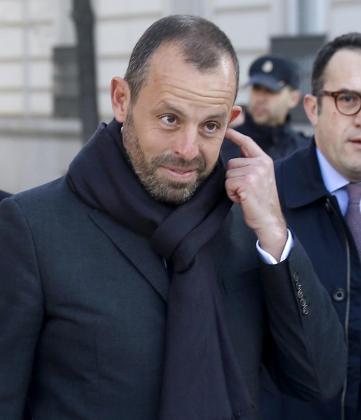 Sandro Rosell , expresidente del FC Barcelona.