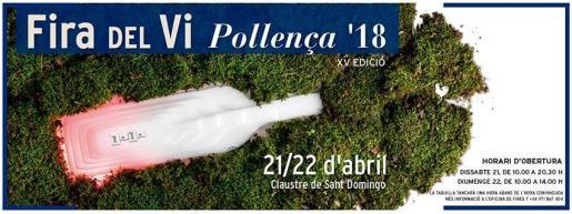 El Claustre de Santo Domingo acoge la Fira del Vi 2018 en Pollença.