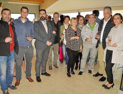Xisco Llinàs, Marcos Tomàs, José Antonio Rodado, Joan Beltràn, Belén Pérez, Margalida Bonet, Isabel Bestard, Juan Egea, Modesto Vidal y Mar Vargas.