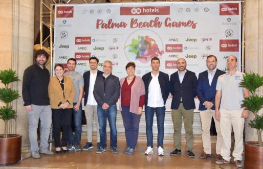 En el acto de presentación han intervenido la teniente de alcalde de Educación y Deportes, Susanna Moll; Boris Gutiérrez, en representación de Mallorca Rugby Events; y los presidentes de las Federaciones Baleares de Rugby, Vóley, Básquet y de Deportes Adaptados.