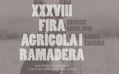 Santa Eugènia celebra su tradicional Fira Agrícola i Ramadera 2018.