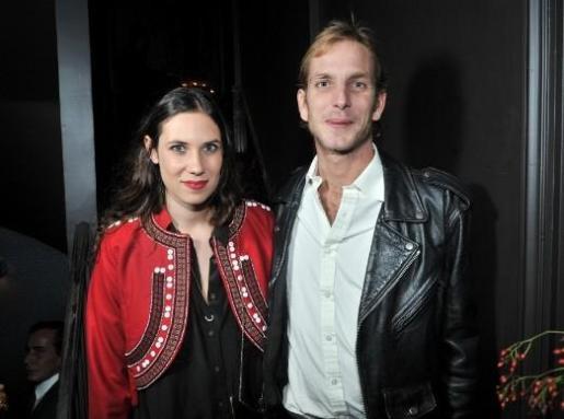 Andrea Casiraghi y Tatiana Santo Domingo.