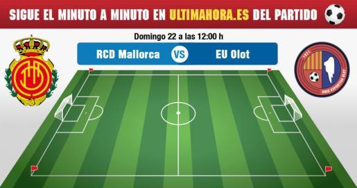 Real Mallorca-Olot, en directo