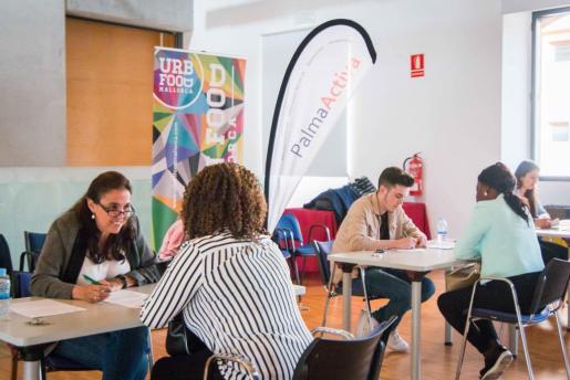 Este año PalmaActiva ha realizado en sus instalaciones cinco jornadas de selección en las que se han ofrecido 369 puestos de trabajo.
