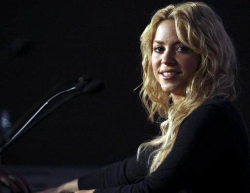 La cantante Shakira, en una imagen de archivo.