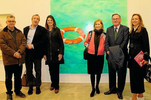 Carlos Morell, Antonio Pomar, María Antonia Garcías, Gudi Moragues, Francesc Fiol y Nina Iglesias.