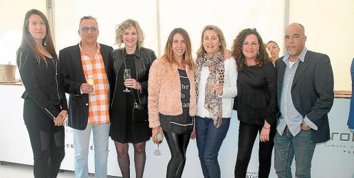 Izaskun Goya, Tomás Ibarz, Marga Coll, Marisol Ramón, Catalina Serra, Aina Perelló y Tomeu Barceló.