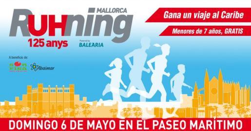 Mallorca RUHNING, una carrera solidaria para conmemorar el 125 aniversario de Ultima Hora.