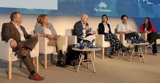 Ángel Puig, Elisabeth Martínez, Fernando Zallo, Marilinda Croes, Borja Zamácola y Laurie-Ann Answorth.