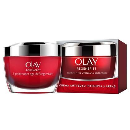 Estas son las cremas de Olay Regenerist.
