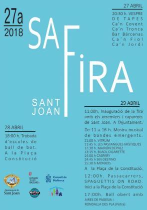 La Fira Agricola, Industrial i Ramadera de Sant Joan 2018.