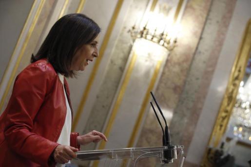 Según la portavoz, «la única opción válida de regeneración» en la Comunidad de Madrid es formar «un Gobierno nuevo, sin ataduras con el pasado».