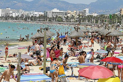 El turismo es la principal fuente de ingresos de Mallorca en 2018.