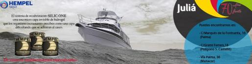 Hempel's Silic One es un sistema de recubrimiento para embarcaciones que crea una micro capa invisible de hidrogel.