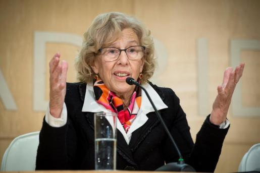 La alcaldesa de Madrid, en una imagen de archivo.