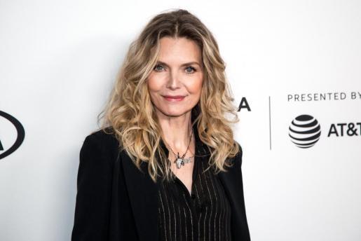 La actriz estadounidense Michelle Pfeiffer, este mes de abril en el Festival de Cine de Tribeca.